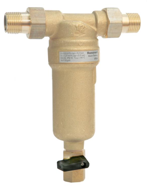 Промывной сетчатый фильтр для горячей воды Honeywell FF06-1/2''AAM
