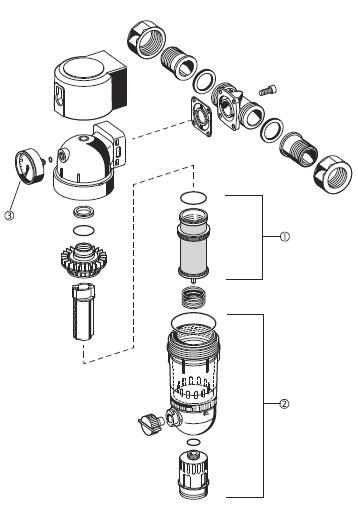 Фильтр с обратной промывкой F74