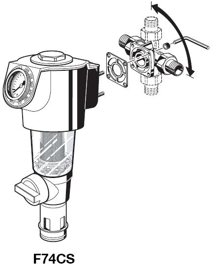 Фильтр с обратной промывкой F74SC