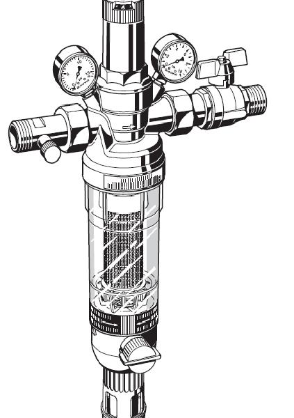 Промывной фильтр HS10S