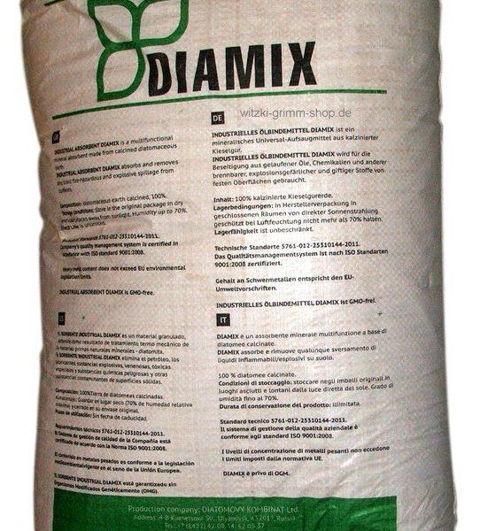 DIAMIX AQUA марка Б, 20 кг,40 л., крошка диатомитовая обожжённая (Россия)
